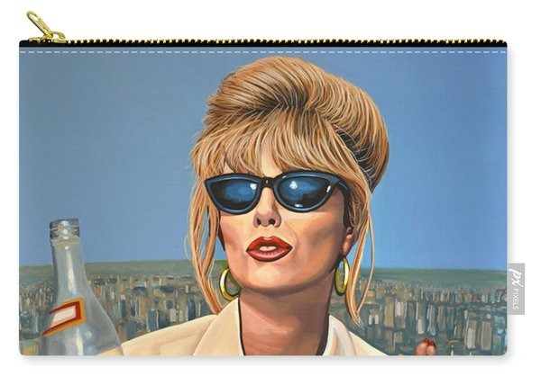 Joanna Lumley As Patsy Stone Carry-all Pouch