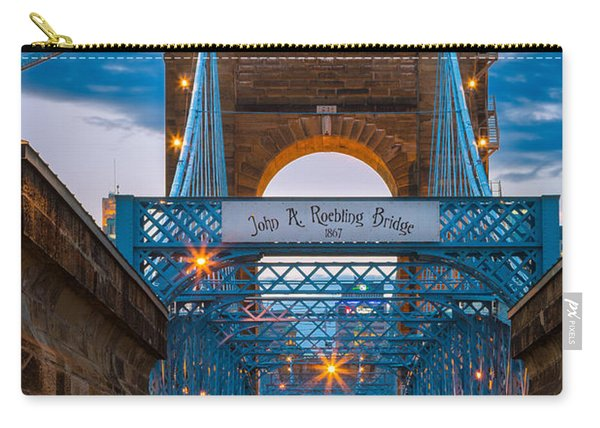 John A. Roebling Suspension Bridge Carry-all Pouch