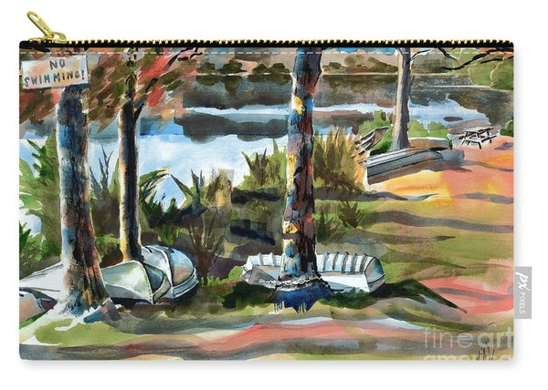 John Boats And Row Boats Carry-all Pouch