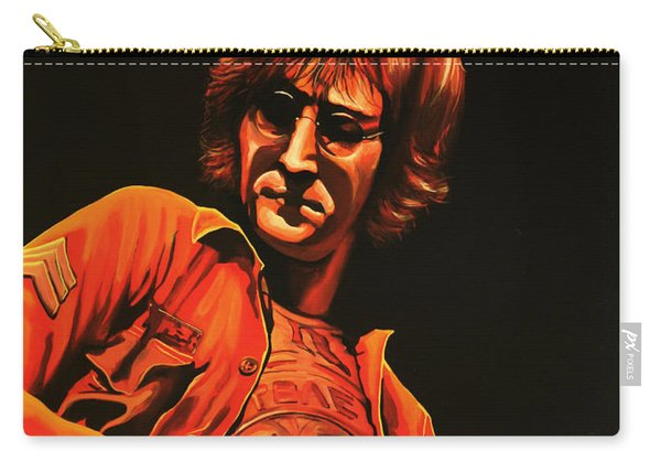 John Lennon Painting Carry-all Pouch