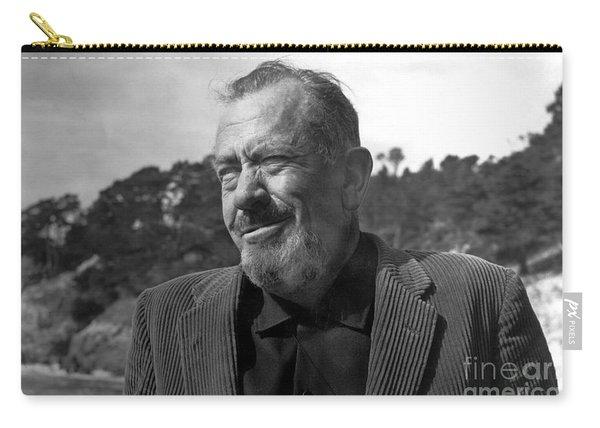 John Steinbeck Pebble Beach, Monterey, California 1960 Carry-all Pouch