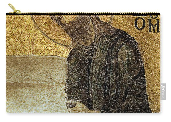 John The Baptist-detail Of Deesis Mosaic  Hagia Sophia-judgement Day Carry-all Pouch