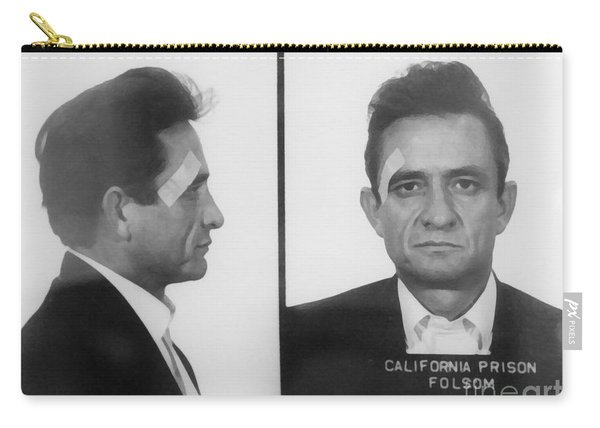 Johnny Cash Folsom Prison Canvas Print,photographic Print,art Print,framed Print,iphone Carry-all Pouch