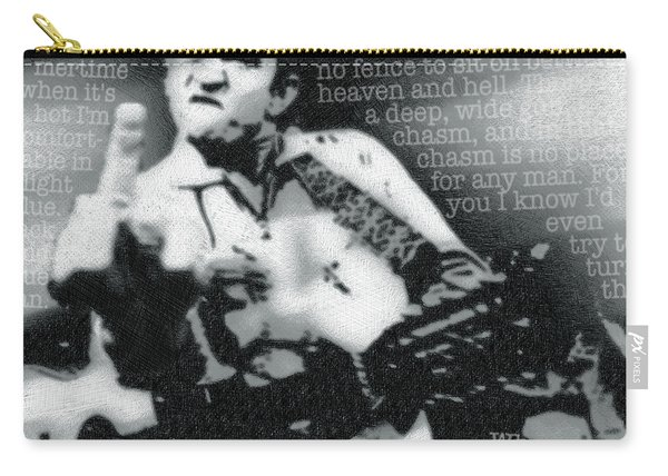 Johnny Cash Rebel Carry-all Pouch