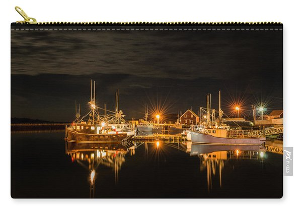 Carry-all Pouch featuring the photograph John's Cove Reflections by Garvin Hunter