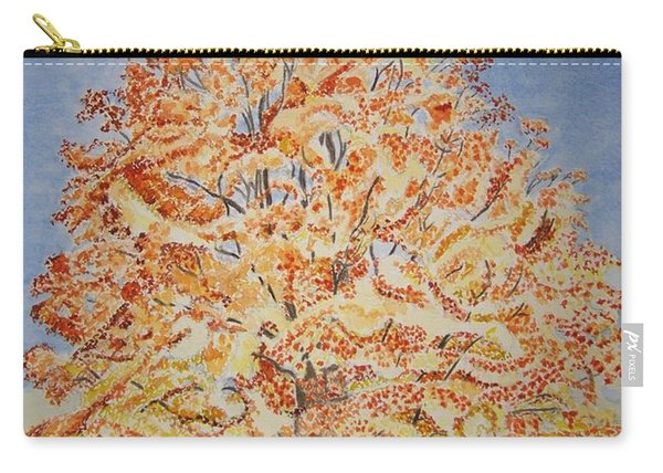Jolanda's Maple Tree Carry-all Pouch