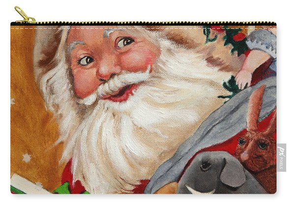 Jolly Santa Carry-all Pouch