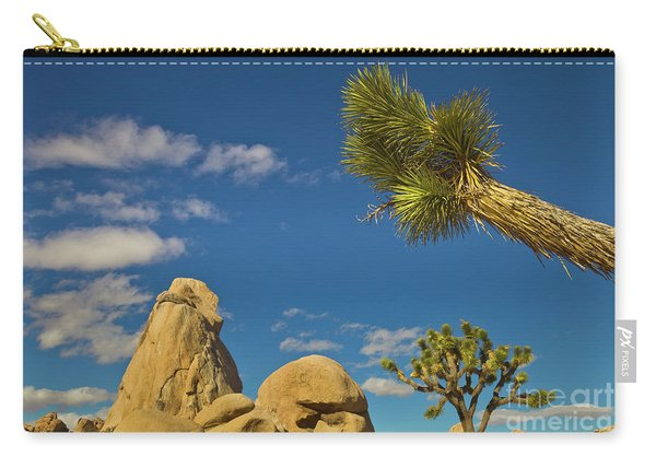 Joshua Tree Rocks And Sky Carry-all Pouch