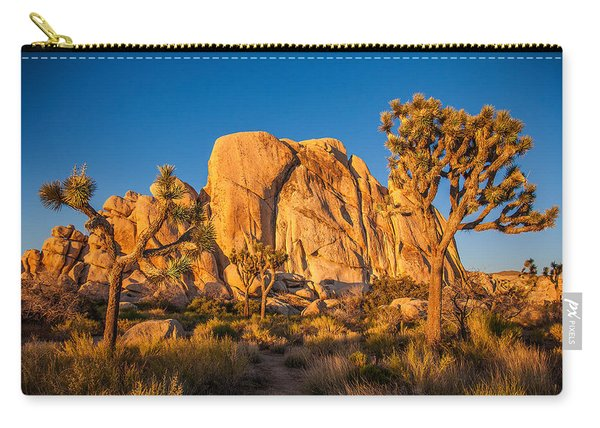 Joshua Tree Sunset Glow Carry-all Pouch