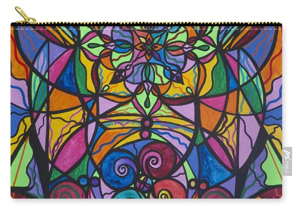 Jovial Optimism Carry-all Pouch