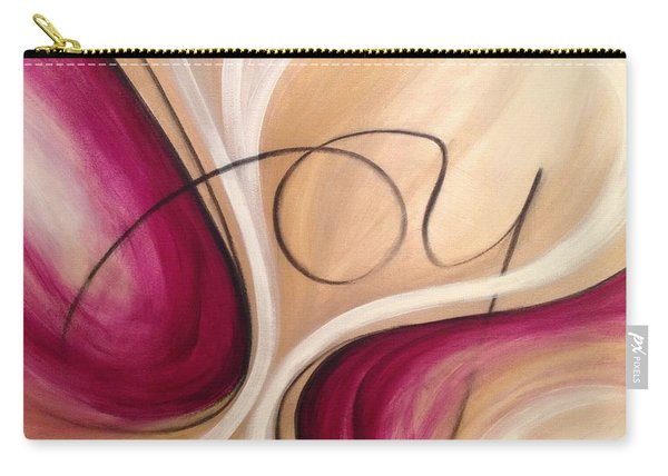 Joy And Strength Dance Together Carry-all Pouch