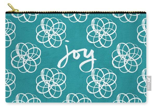 Joy Boho Floral Print Carry-all Pouch