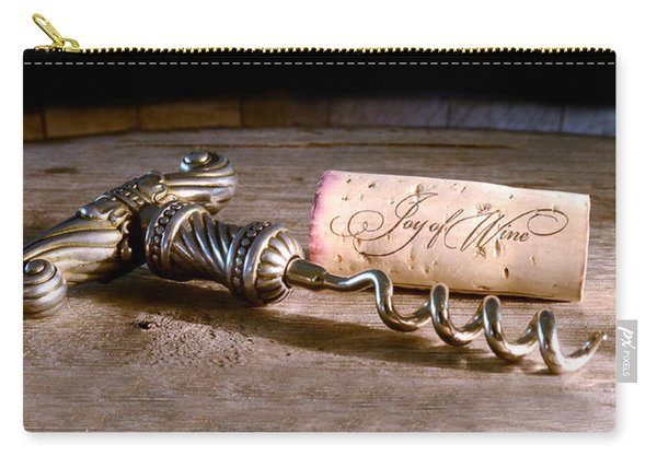 Joy Of Wine Carry-all Pouch