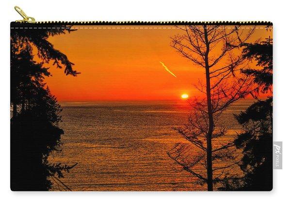 Juan De Fuca Sunset Carry-all Pouch