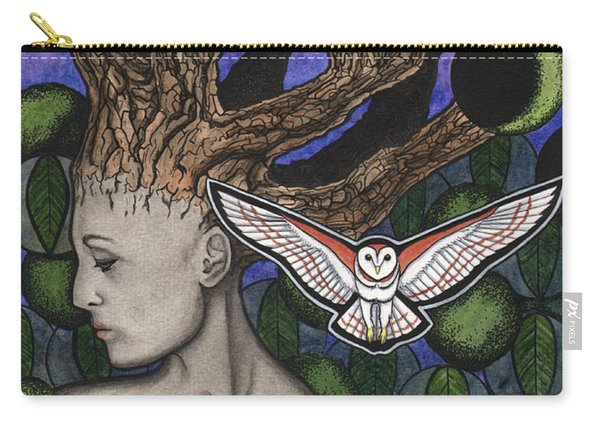 Juglans Nigra Carry-all Pouch