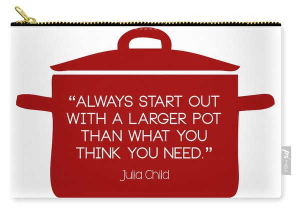 Julia Child's Larger Pot Carry-all Pouch