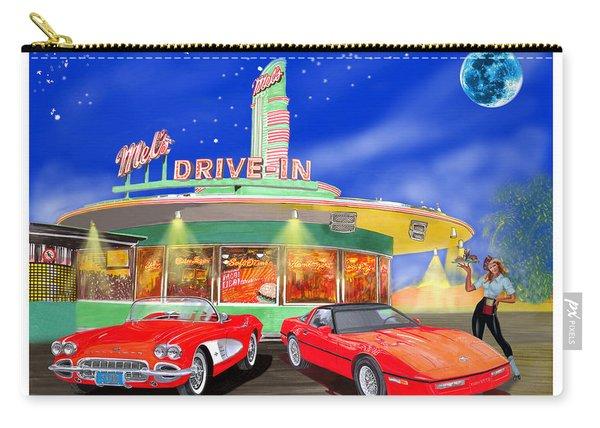 Julies Corvettes Carry-all Pouch