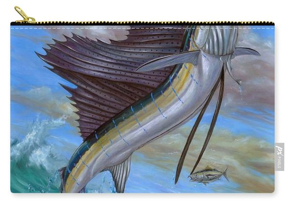 Jumping Sailfish Carry-all Pouch