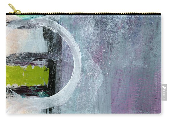 Junction- Abstract Expressionist Art Carry-all Pouch