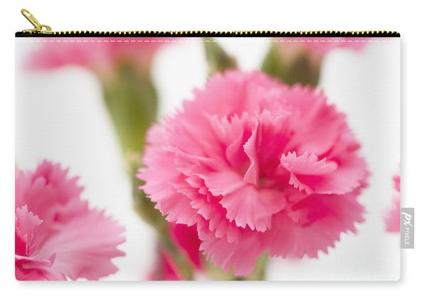 Just Carnations Carry-all Pouch