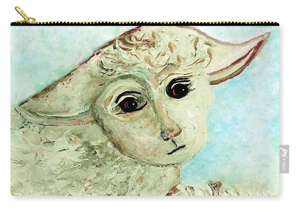Just One Little Lamb Carry-all Pouch