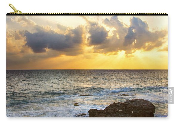 Kaena Point State Park Sunset 2 - Oahu Hawaii Carry-all Pouch