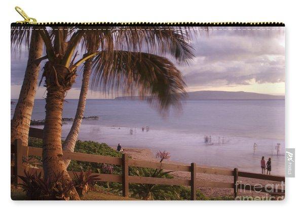 Kai Makani Hoohinuhinu O Kamaole - Kihei Maui Hawaii Carry-all Pouch