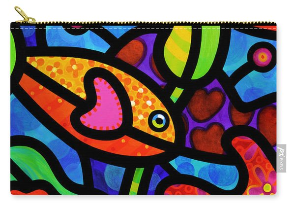 Kaleidoscope Reef Carry-all Pouch