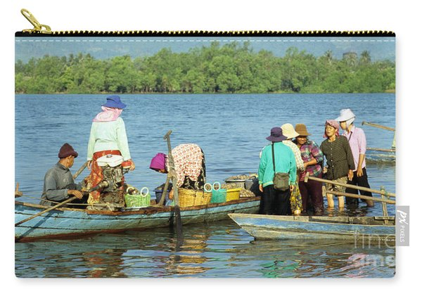 Kampot River Carry-all Pouch