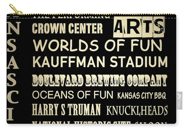 Kansas City Famous Landmarks Carry-all Pouch