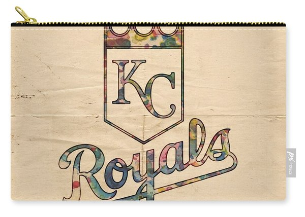 Kansas City Royals Poster Vintage Carry-all Pouch