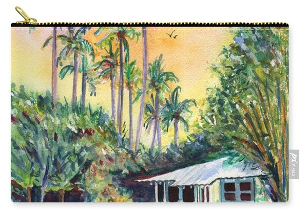 Kauai West Side Cottage Carry-all Pouch