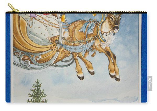 Kay And The Snow Queen Carry-all Pouch