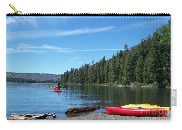 Kayaking On Suttle Lake Carry-all Pouch