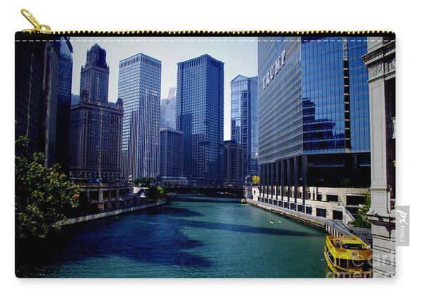 Kayaks On The Chicago River Carry-all Pouch