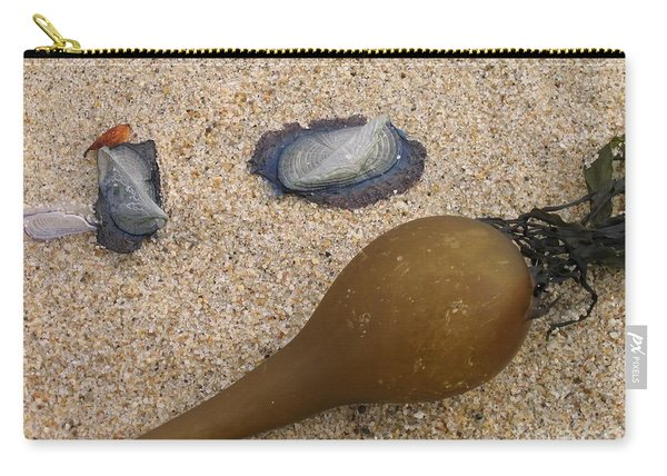 Kelp Float And Velella Carry-all Pouch
