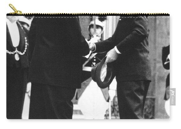 Kennedy & De Gaulle Meet Carry-all Pouch