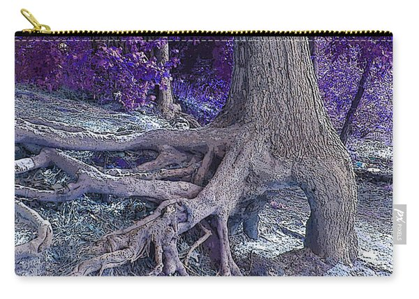 Kentucky Lake Roots Blue Carry-all Pouch