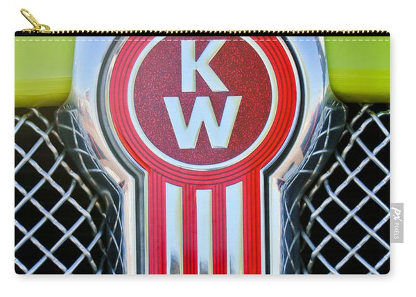Kenworth Truck Emblem -1196c Carry-all Pouch