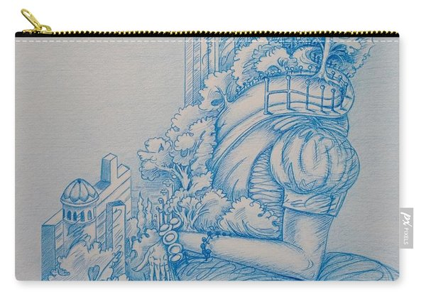Keys To The City Carry-all Pouch