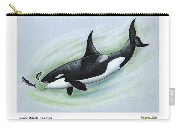 Killer Whale Feeding Carry-all Pouch