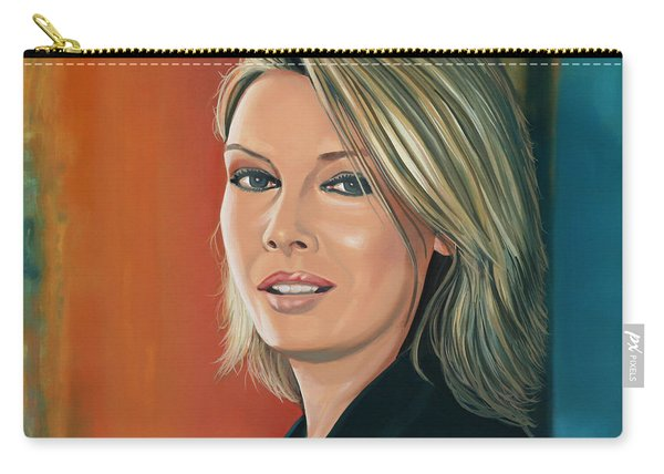 Kim Wilde Painting Carry-all Pouch