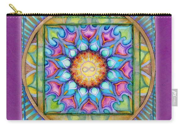 Kindness Mandala Carry-all Pouch
