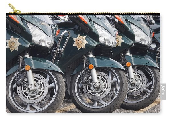 King County Police Motorcycle Carry-all Pouch
