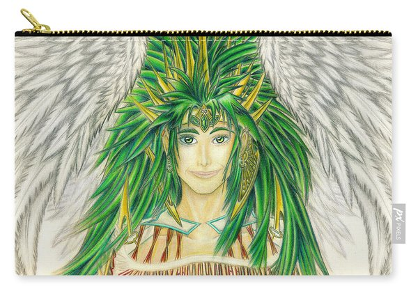 King Crai'riain Portrait Carry-all Pouch