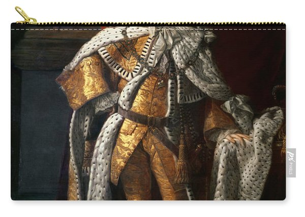 King George IIi 1738-1820 C.1762-64 Oil On Canvas Carry-all Pouch