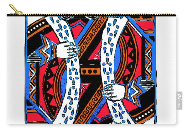 King Of Hearts 20140301 Carry-all Pouch