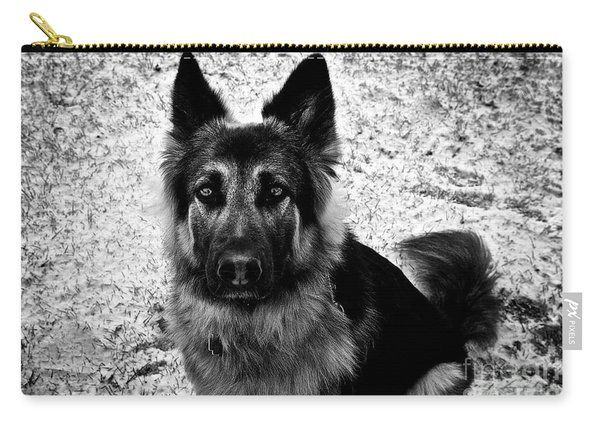 King Shepherd Dog - Monochrome  Carry-all Pouch