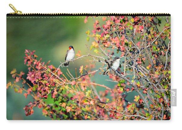 Kingbird Pair Carry-all Pouch
