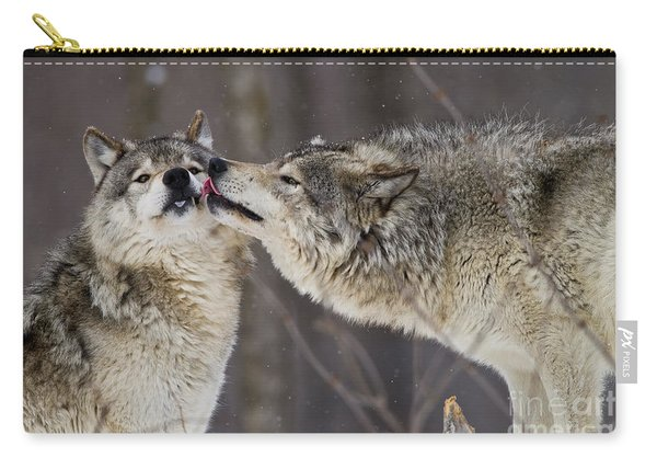 Kissy Face Carry-all Pouch